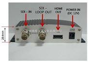 深圳高清HD-SDI转HDMI转换器/HD-SH64