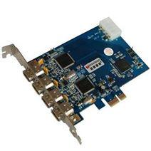 MV-E1394 PCI-E 1394A单/双通道高速图像采集卡