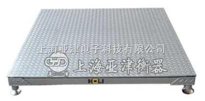 5吨单层地磅称,上海单层电子地磅称直销厂家