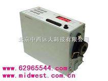 便携式微电脑粉尘仪(主要用于环保部门) 型号:0M288024(中西)库号:M288024