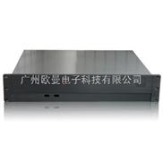 2U工控机箱 2U服务器机箱 2U铝合金面板机箱 承接ODM/OEM