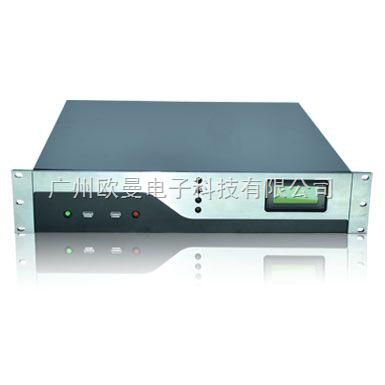 2u工业机箱 2u服务器机箱 2u高档铝面板机箱 2u带显示