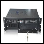 4U工控机箱、4U服务器机箱、4U工业机箱8硬盘位/2光驱位/4U450 黑色