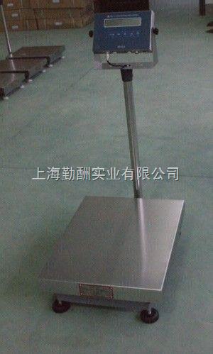 150kg工业防水电子台称,连电脑不锈钢台秤上海
