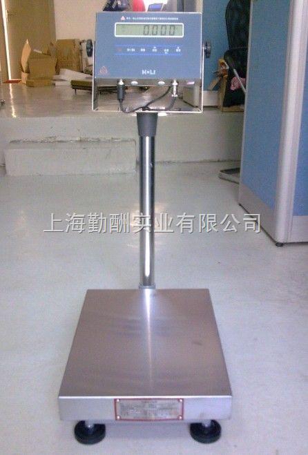 勤酬60kg电子台秤价格,不锈钢台面