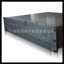 2U工控机箱 2U服务器机箱 高档铝合金面板2U350LH