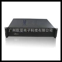 2U工控机箱 2U服务器机箱 2U超短服务器机箱 2U350LT