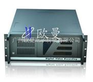 欧曼4U工控机箱/4U服务器机箱/12硬盘位/2光驱位/4U4512