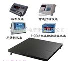 DCS上海产销1吨电子磅秤(20吨电子地磅称报价)