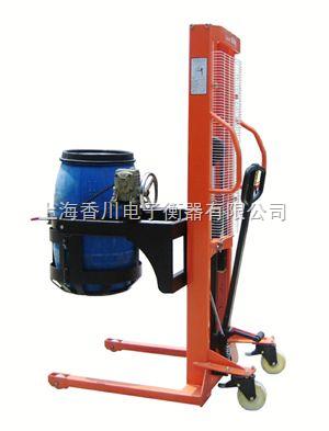 倒油桶秤(100公斤倒桶车秤,300公斤油桶车秤,500公斤油桶堆高车秤)