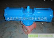 AW系列大扭矩双作用阀门气动执行器