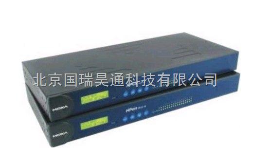 MOXA 串口通讯服务器 Nport5630-16