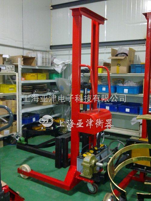 300kg全自动高效率油桶磅秤 电子倒料秤