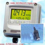 在线式水中臭氧检测仪。 型号:BD52-Q45H-64