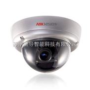 海康威视日夜型防暴半球模拟摄像机DS-2CC502P(N)-FB