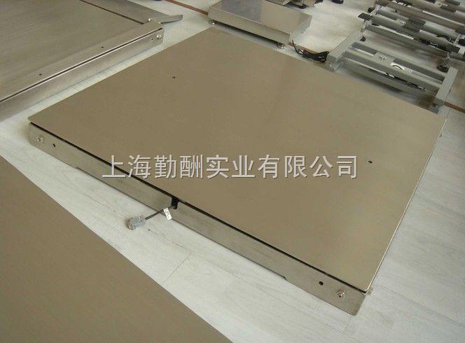 供应双层电子地磅,2吨不锈钢地磅秤,电子磅价格