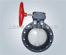 CPVC塑料涡轮蝶阀