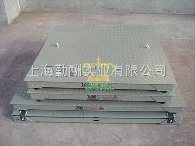 3吨单层地磅/碳钢,模拟式磅秤,浙江电子地磅
