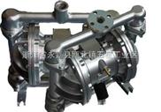 威王厂家QBY型铸铁气动隔膜泵价格,结构图