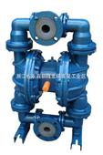 威王厂家QBY衬氟气动隔膜泵价格,结构图