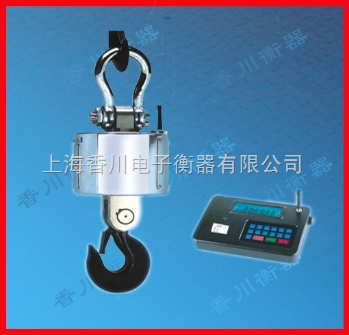 1吨无线传输带打印吊秤(100吨无线传输带打印吊秤)