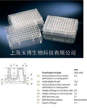 丹麦nunc 96孔细胞培养板(平底)