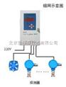 在线可燃气体检测仪 主机+三个探头HW8KB200+BS01