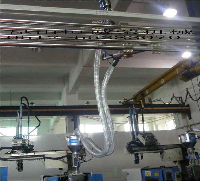 挤出中央供料系统电缆集中供料系统