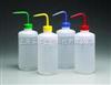 颜色标记的洗瓶 250ml 红色 进口
