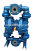 威王廠家QBY襯氟氣動隔膜泵價格,結構圖