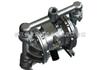 威王厂家QBY型不锈钢气动隔膜泵结构图